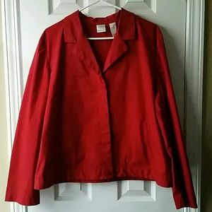Emma James Red Jacket/Blazer Size 16